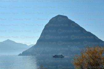 000338 Lago Di Lugano e Monte San Salvatore